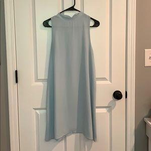Pale Blue 50s Inspired Shift Dress